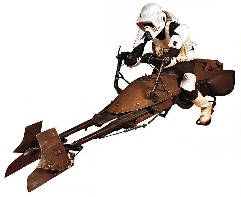Future plains - Star Wars Hoverbike