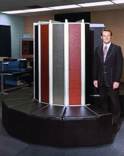 Cray I and Seymour Cray